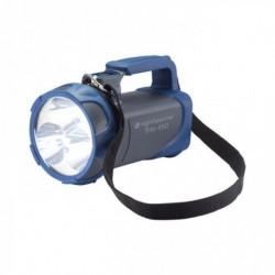 Lampe torche TRIO-550 grise et bleue